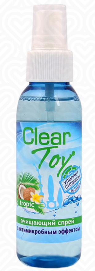 Очищающий спрей  CLEAR TOY TROPIC 100мл