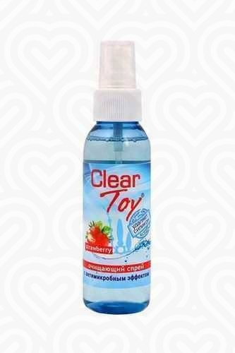 Очищающий спрей  CLEAR TOY STRAWBERRY 100мл